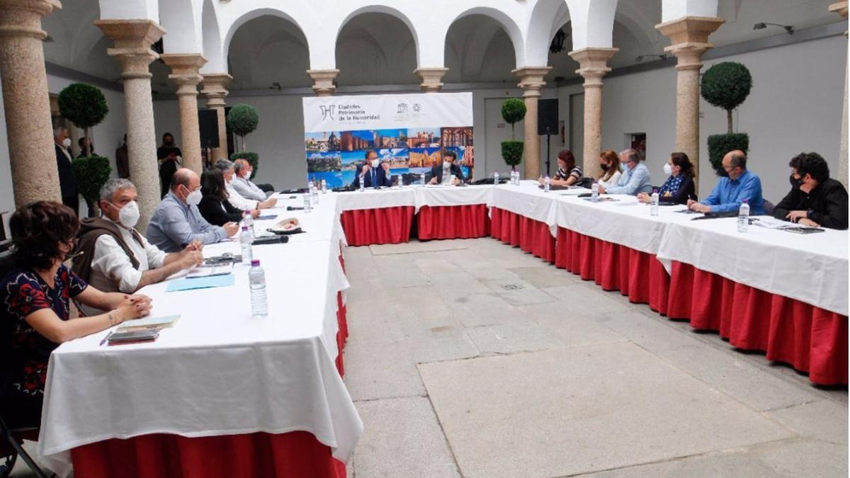 Jornadas del Grupo de Ciudades Patrimonio celebradas en la ciudad.
