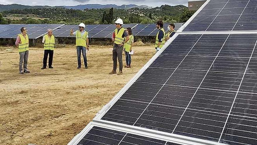Baleares contará con seis nuevos parques de energía solar antes de fin de año
