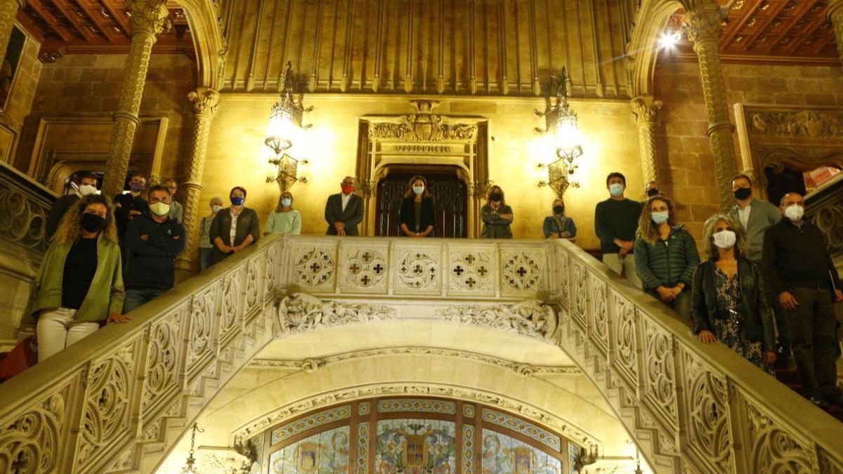 Miembros del nuevo Consell de l'Esport de Mallorca.