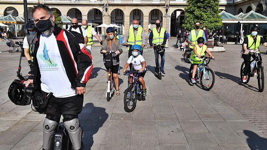 """Ruta de patinetes por """"una movilidad no contaminante"""""""
