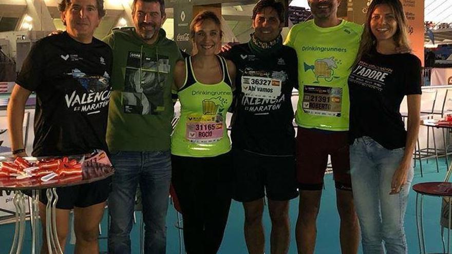 Todos los famosos que participaron en el maratón