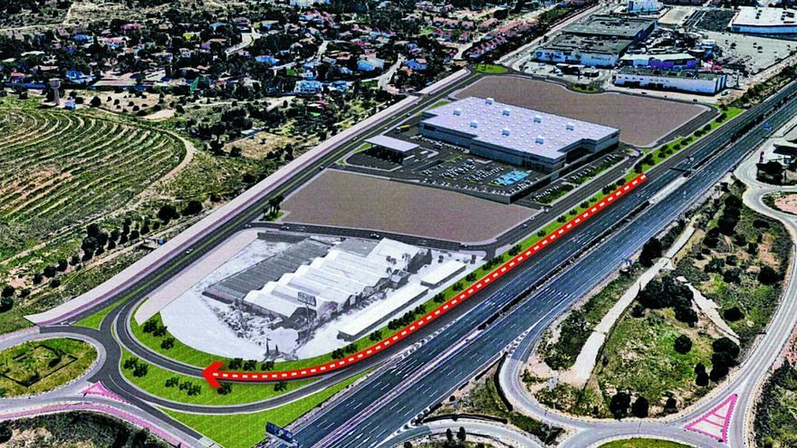 El promotor de Costco ampliará los accesos desde la CV-35 para evitar atascos
