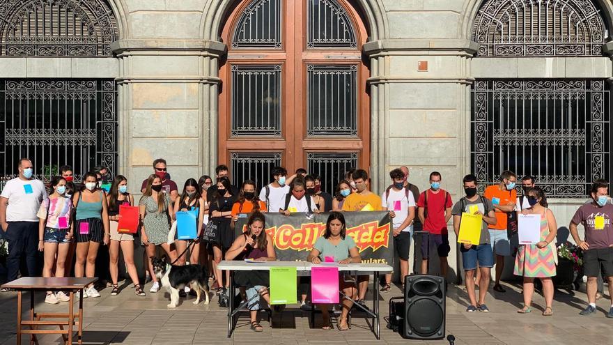 Festhi i la Coll@nada es queixen de la gestió cultural de l'Ajuntament d'Igualada