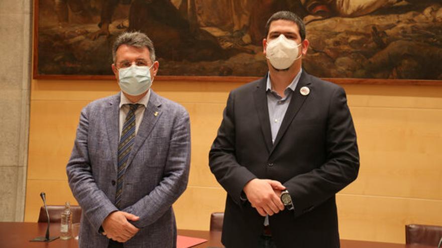 La pandèmia i les destrosses del Gloria marquen els dos primers anys de govern de la Diputació de Girona