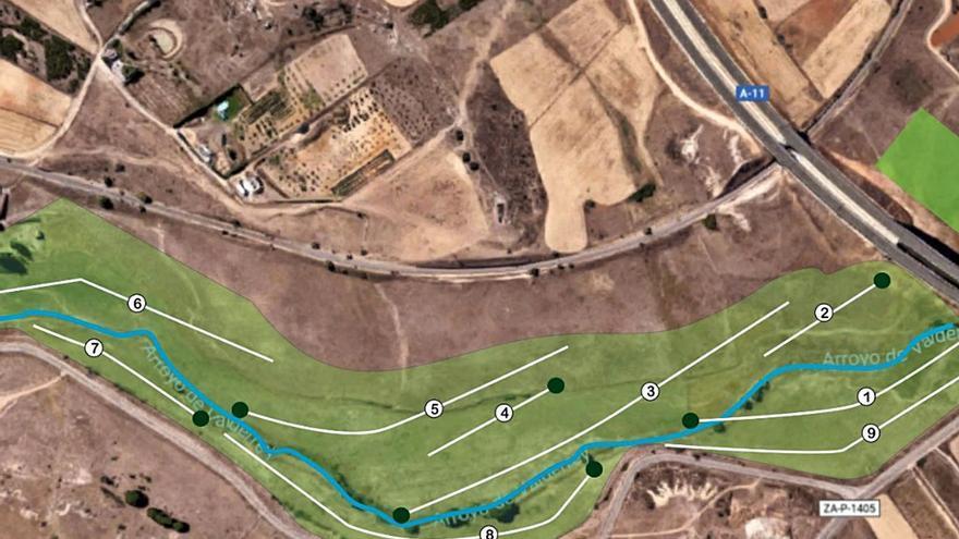Zamora: Valderrey acaricia el campo de golf