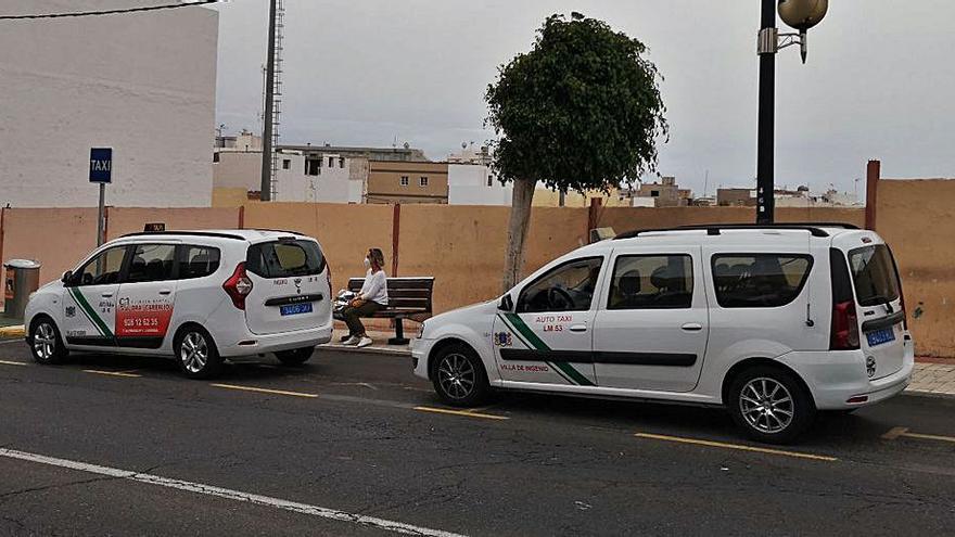 El nuevo servicio de control del taxi en Gando estará listo en enero