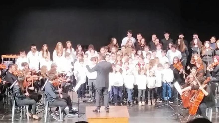 Gran éxito en el concierto de Navidad del Conservatori