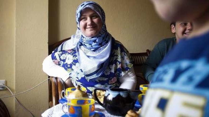 Fatima encontró la paz que ansiaba en Asturias