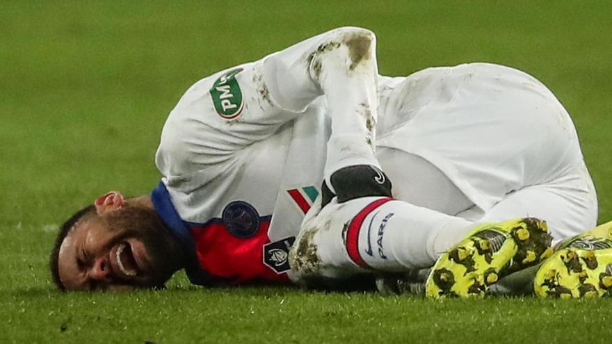 Neymar, baixa per quatre setmanes