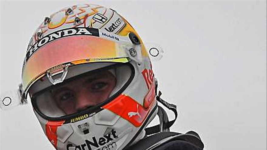Verstappen golpea primero en territorio de Hamilton