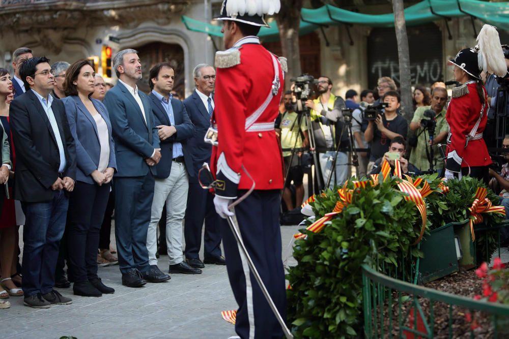 Celebración de la Diada en Cataluña