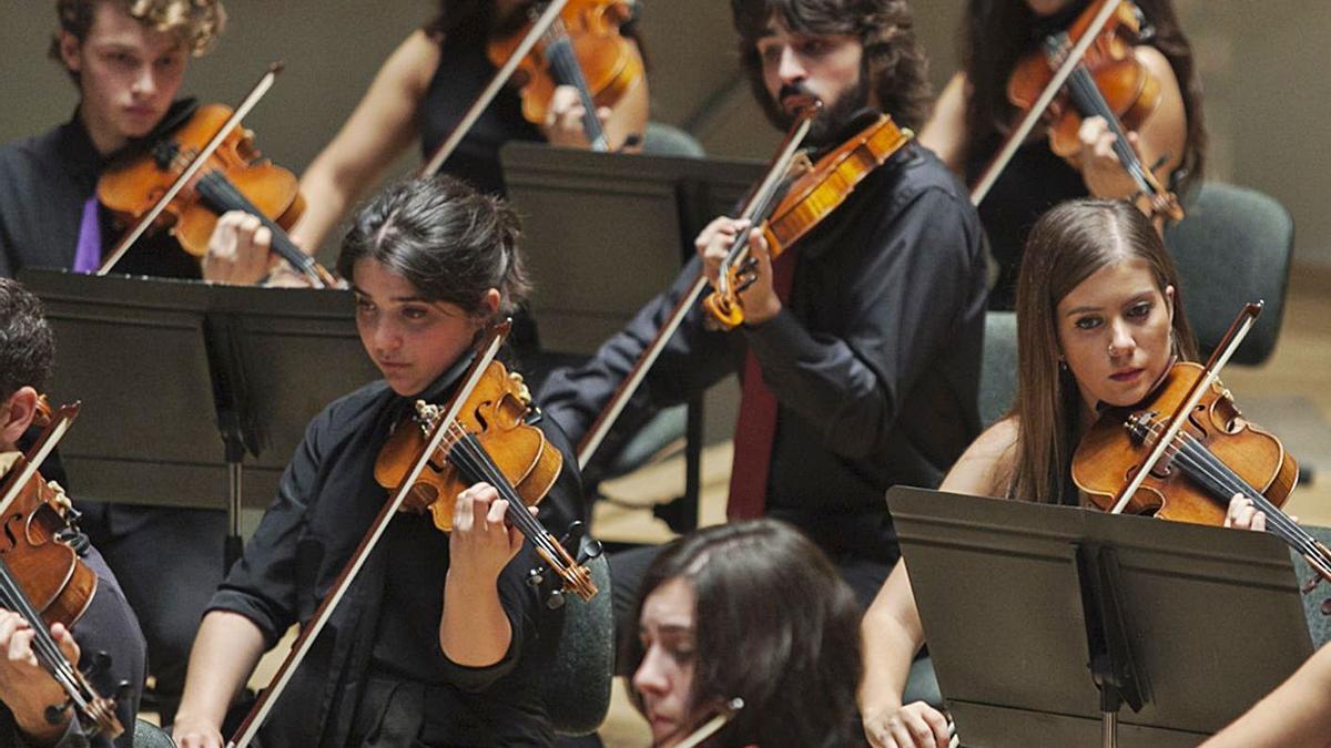Membres de la Jove Orquesta de la Generalitat. | LEVANTE-EMV