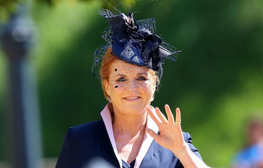 La británica Sarah, Duquesa de York. / AFP PHOTO / POOL / Gareth Fuller