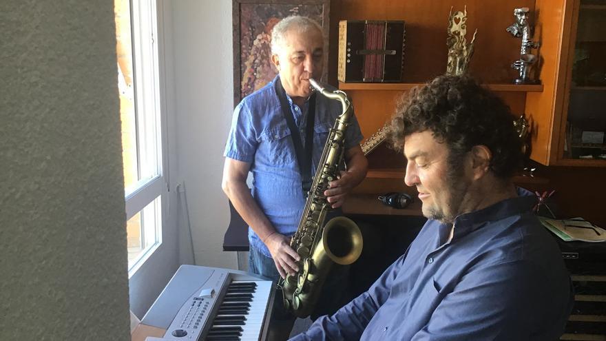 Benjamín Sun y Antonio Moltó preparan disco