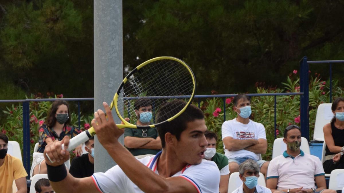 Carlos Alcaraz se mete en el cuadro final en Todi