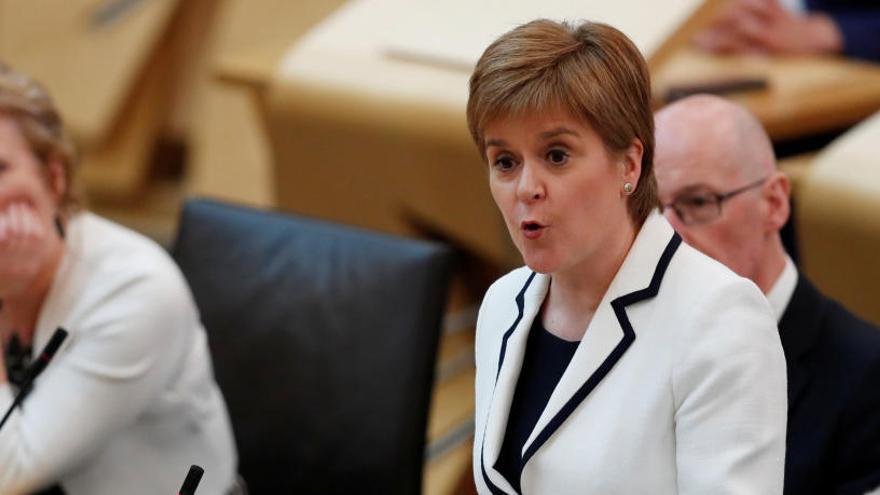 Sturgeon reclama un nou referèndum d'independència a Escòcia abans del 2022