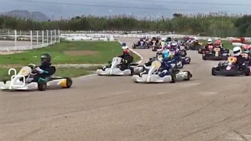 La temporada de karts arranca en Oliva con varias victorias saforenses