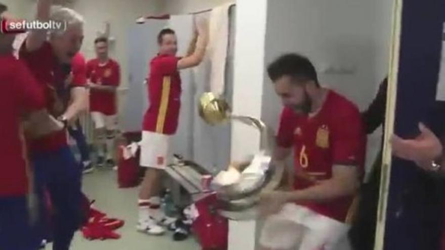 España celebra así tu título de campeón de Europa