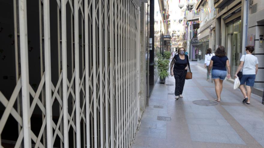 Más de 70 negocios cerrados en la Corredera y su entorno aguardan a la peatonalización
