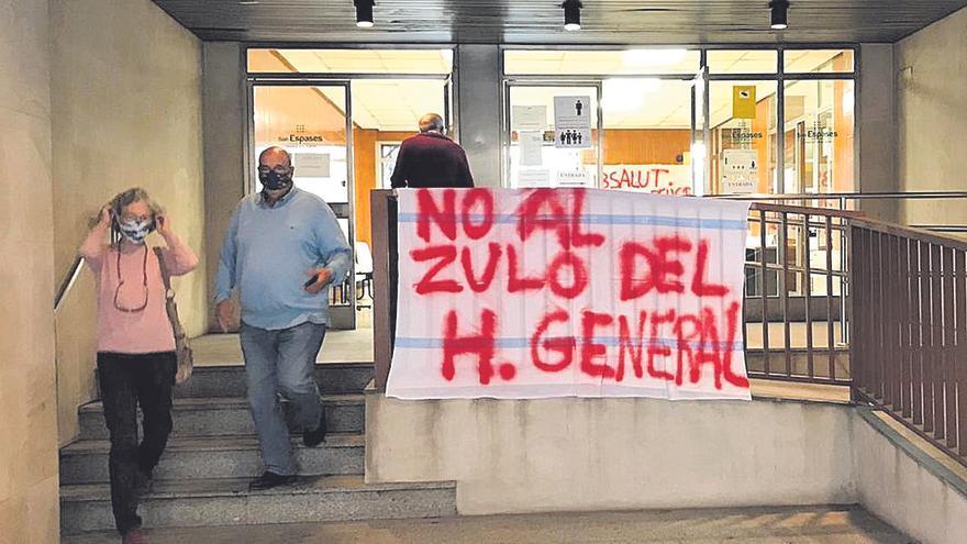 Los sanitarios del Carmen rechazan «confinarse» en el hospital de la Sang