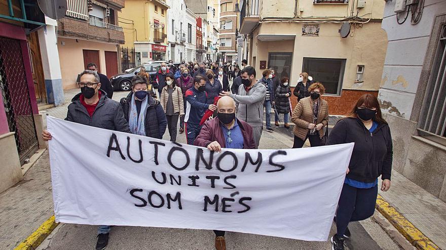 Los autónomos salen a la calle para alertar de una situación «más que crítica»