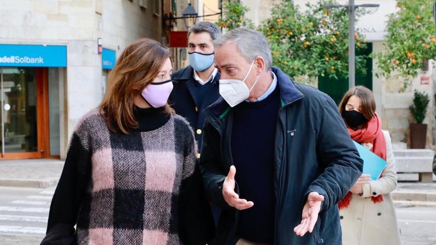 """El alcalde de Sóller estalla: """"Es inaceptable que se tarde tanto en vacunar a la población"""""""