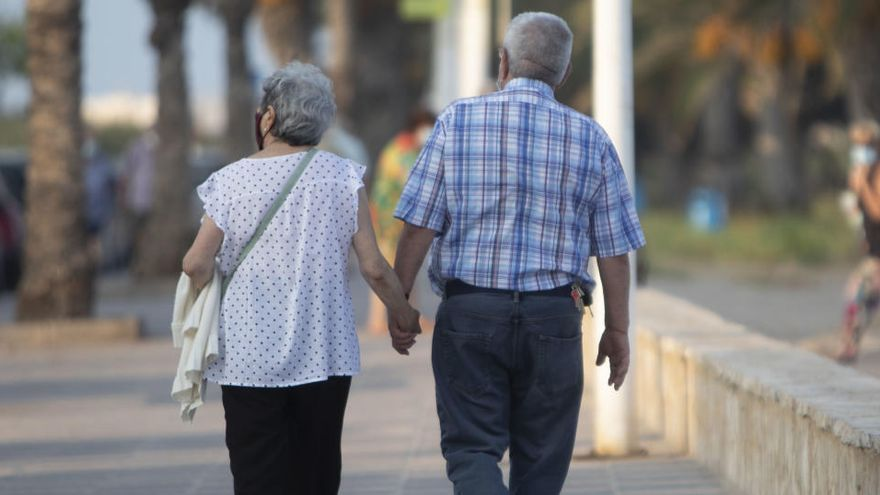 La nómina de las pensiones sube un 2,3% en noviembre