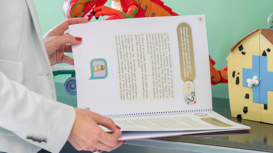 Justícia publica una guia per a pares amb fills que han patit violència sexual