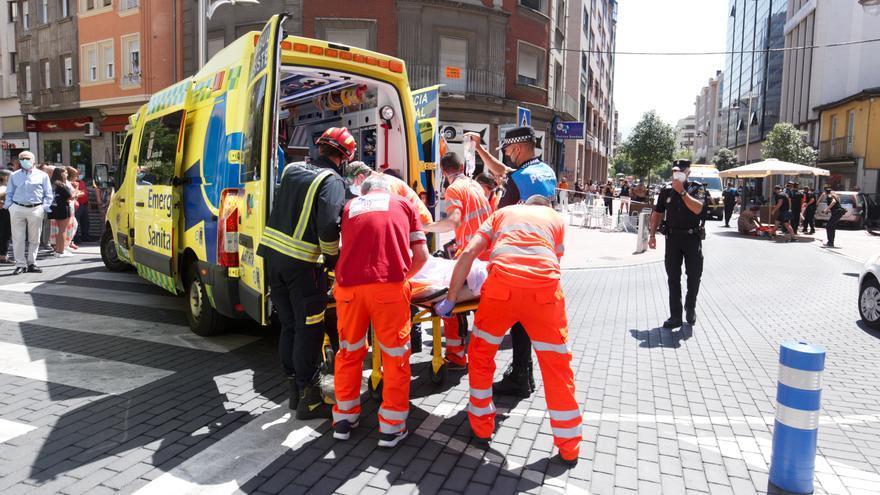 El atropello múltiple de Ponferrada se salda con una mujer muerta y tres heridas graves