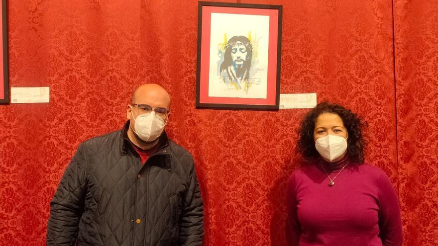 El Museo de Semana Santa de Vélez-Málaga acoge una muestra pictórica basada en obras de Domingo Sánchez Mesa