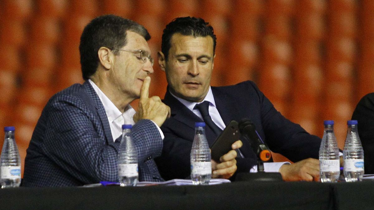 Aurelio Martínez y Amadeo Salvo