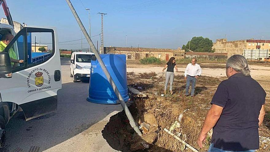 Investigan al alcalde de Benejúzar por una obra sin contrato