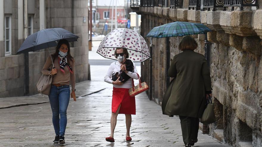 La entrada de un frente frío dejará lluvias en el norte