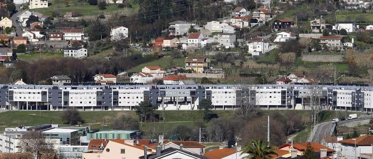Nuevas edificaciones en Vigo. // Marta G. Brea