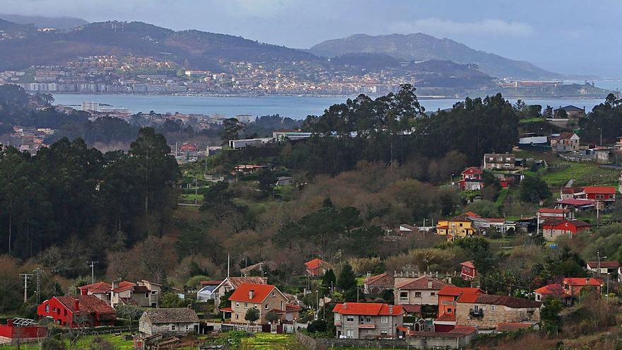 La pandemia aviva la construcción en el rural de Baiona y Nigrán