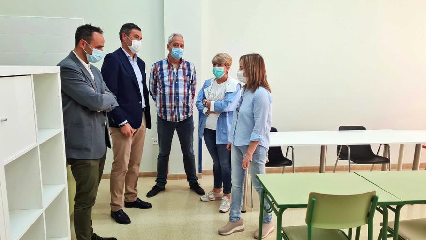 El Ayuntamiento de Caravaca pone a disposición de APCOM aulas para cursos