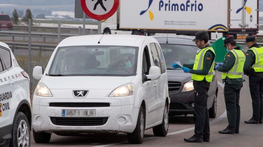 Semana Santa deja 5.685 multas en las carreteras por incumplir el confinamiento