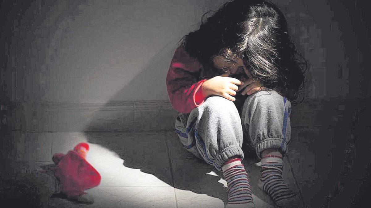 Imagen de un espacio sobre violencia infantil difundido por Radio Televisión Española.