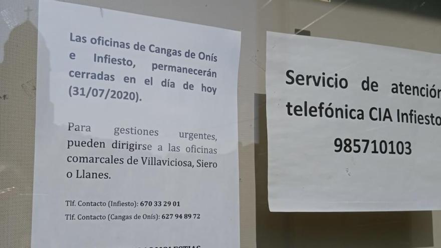 Cerradas cuatro oficinas de Agricultura en el oriente de Asturias por el positivo de un veterinario del Principado