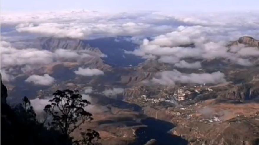 Nubes, temperaturas en descenso y posibles lloviznas este martes en Canarias