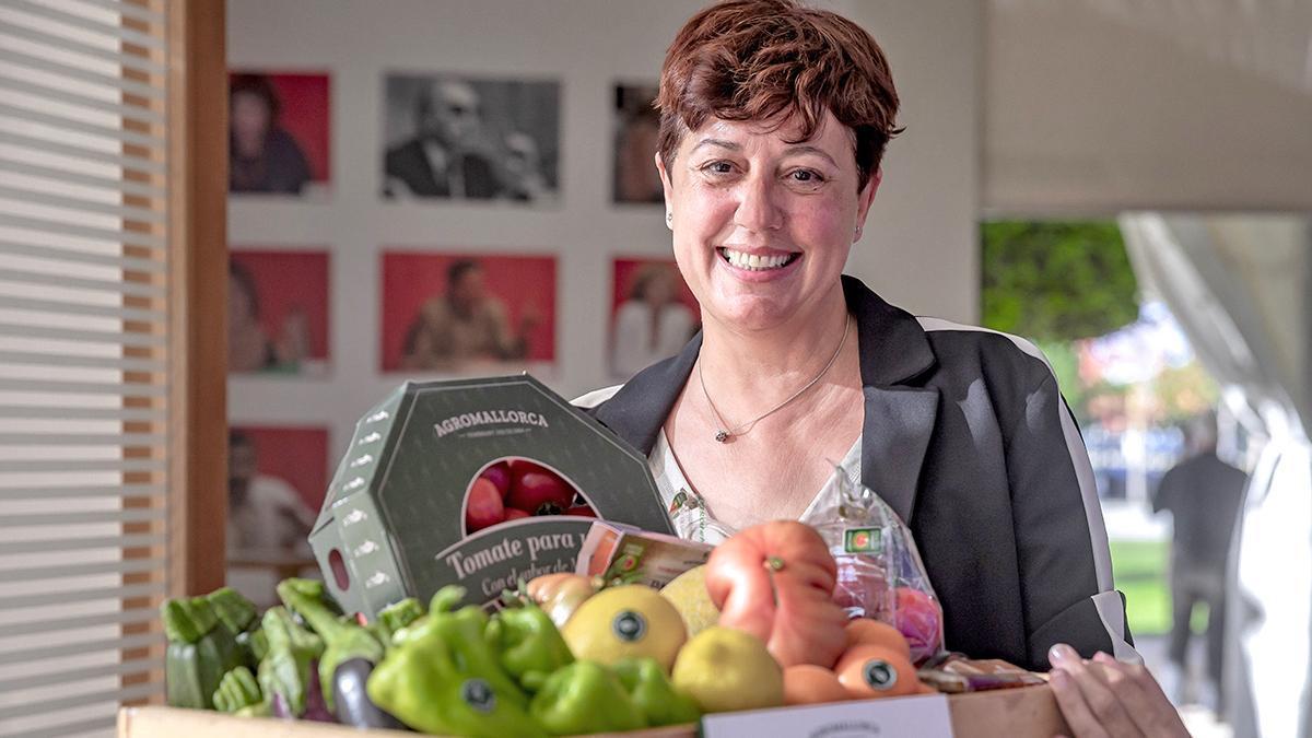 Isabel Vicens, gerente de Agromallorca.
