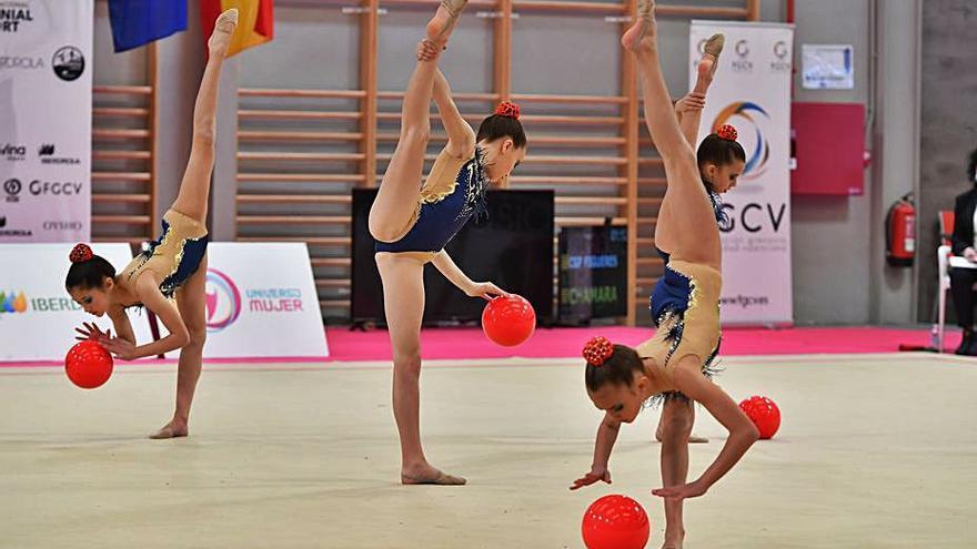 La gimnàstica rítmica i l'elegància d'un esport molt viu a l'Alt Empordà