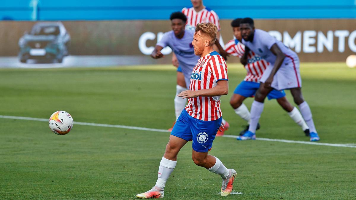Samu Sáiz va marcar de  penal a l'estil Panenka l'únic gol del Girona.  
