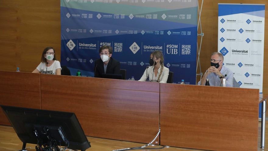 Primer cara a cara entre Jaume Carot y Carmen Orte en la UIB