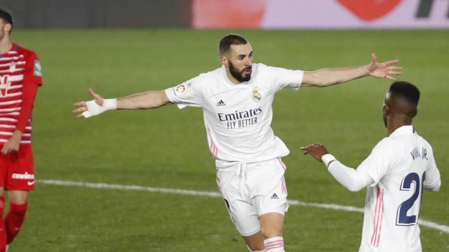 Todos los goles de la jornada 15 de LaLiga: Benzema y Casemiro, al ritmo del Atlético