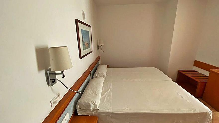 El nuevo hotel puente de Ibiza entra hoy en servicio con 60 plazas para aislamientos