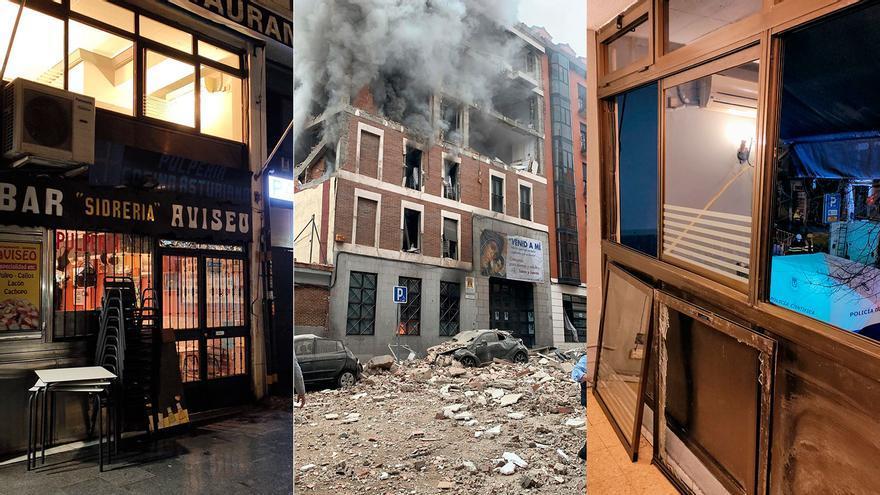 """Los testigos asturianos de la explosión en el centro de Madrid: """"Movió toda la casa, creí que caía abajo"""""""