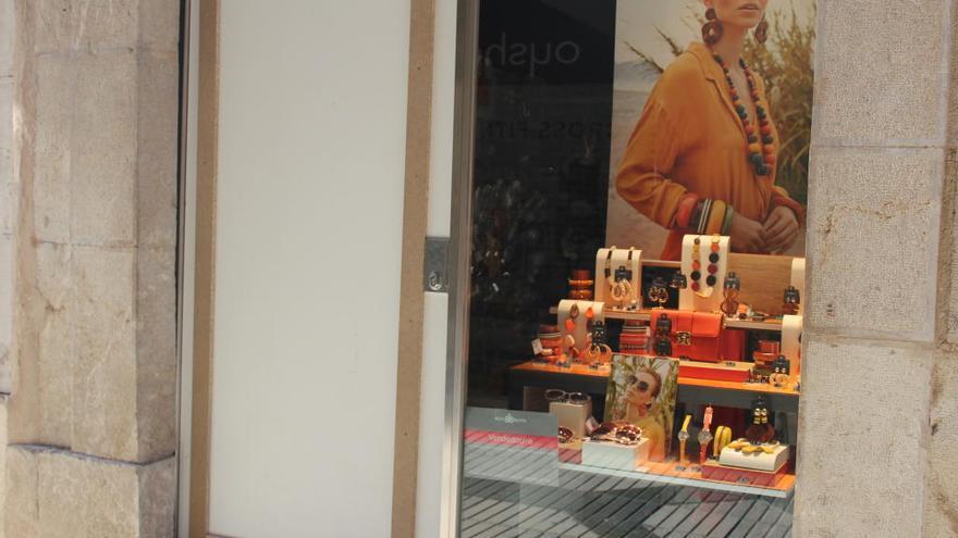 Figueres torna a patir robatoris amb força a les botigues del Rovell de l'Ou