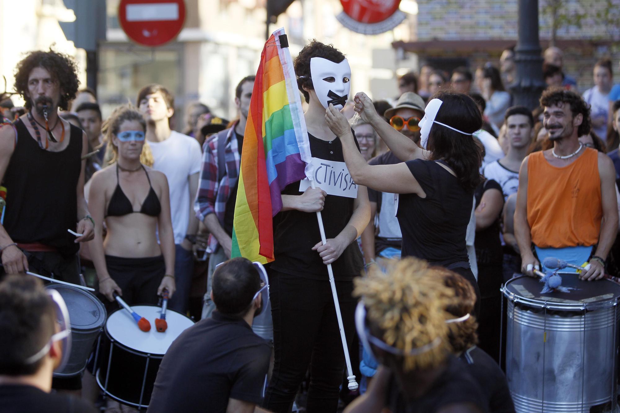 Manifestación y marcha del Orgullo en 2014