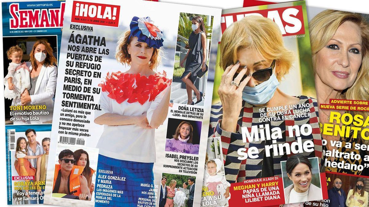 Prensa Rosa: Portadas 09/06/2021